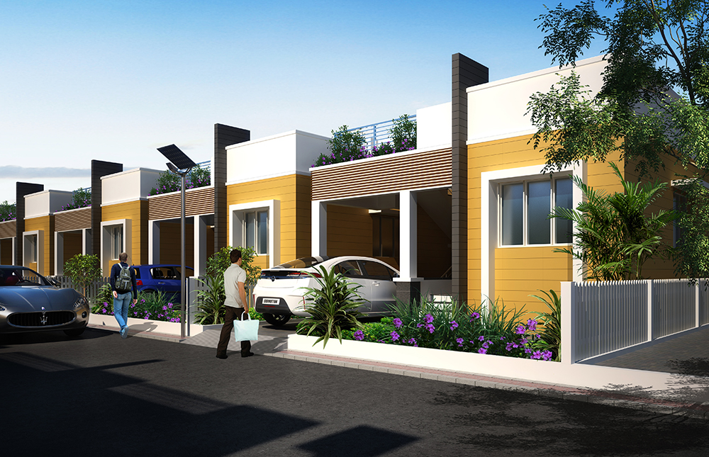 proposed building architecture trichy